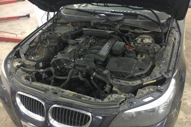 Замена радиатора помпы BMW (БМВ)