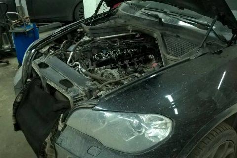 Замена свечей накала, блока накала BMW (БМВ) Х5 Е70 Двигатель 3.0 N57