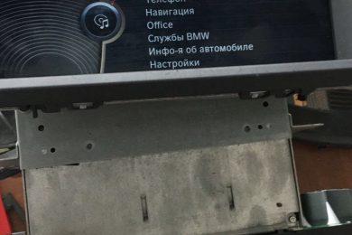 Ремонт монитора х5 e70 система CIC