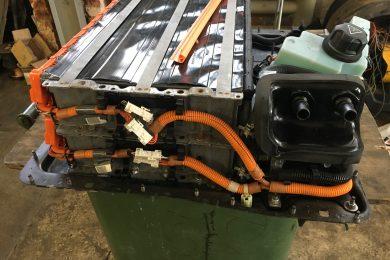 BMW E72 гибрид ремонт Гибридной батареи