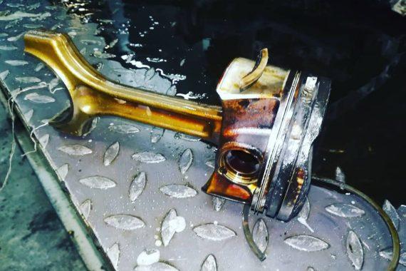 Возникает вибрация по двигателю и горит его чек в автомобиле Cooper S 50000