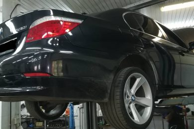 Поломка рулевой рейки в BMW E60 (530i)