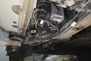Ремонт котла Webasto в BMW E70
