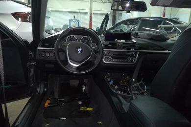 Замена салона в BMW F30