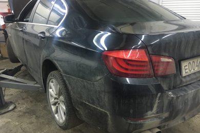 Ремонт фары в BMW F10