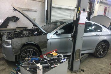 Замена прокладок коллектора BMW (БМВ)