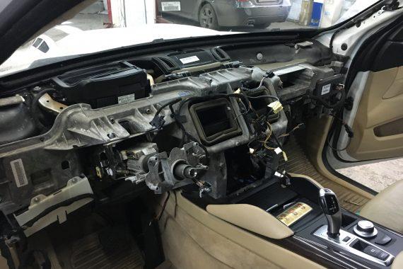 Установка автозапуска БМВ