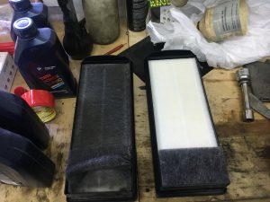 Замена масла и всех фильтровБМВ