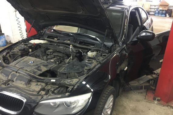 BMW E92 Замена радиатора печки