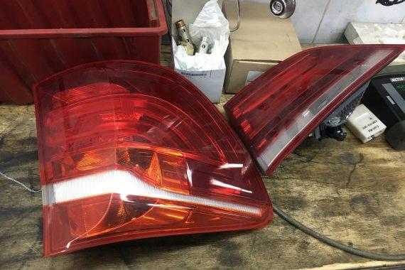 Промывка радиатора, замена сайлентблоков, нижних рычагов, ремонт задних фонарей BMW X3 F25