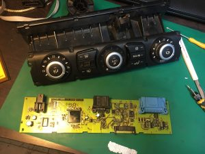 BMW E60 ремонт климат-контроля