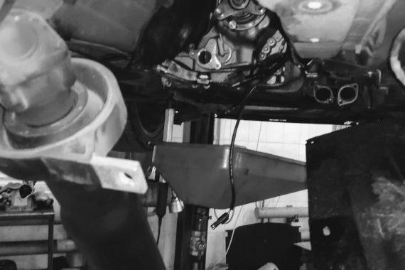 Ремонт раздаточной коробки E60