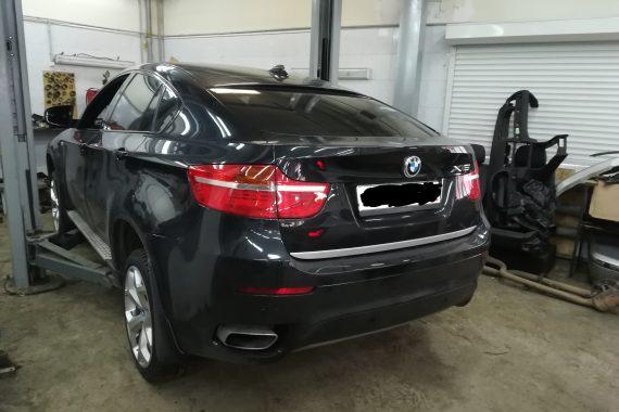 BMW E72 Х6 гибрид