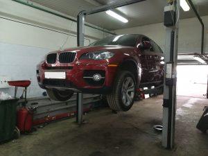 BMW Е71 – выход из строя блока управления EMF