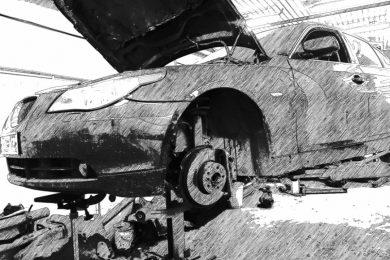 Устранение стука в передней части BMW 525XI (E60)