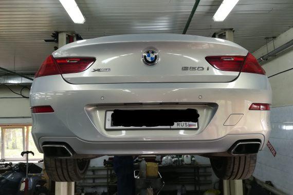 Замена масла, фильтра и втулки BMW 650I (F06)