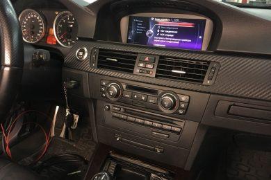 Установка оригинальной мультимедийной системы NBT в BMW (E92)