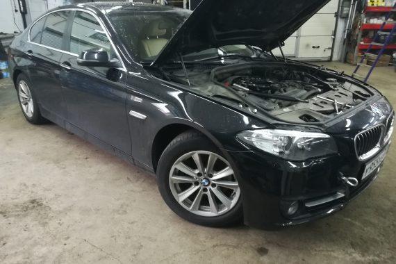 Устранение проникшей воды в BMW F10 (2.0D)