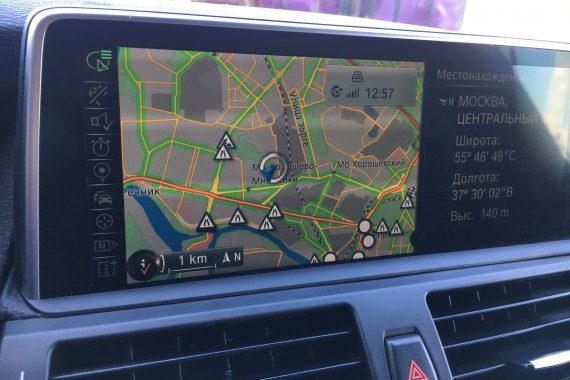 Установка системы «NBT» нового поколения в BMW X5M (E70)