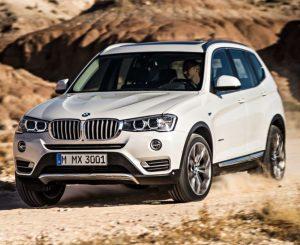 Характеристики BMW X3
