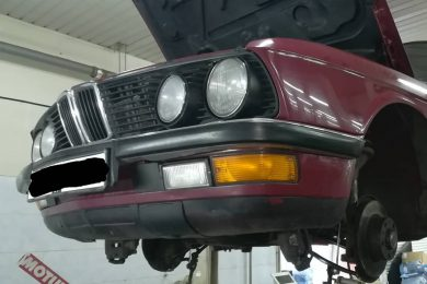 Капитальный ремонт BMW Е28 (1985 года выпуска)