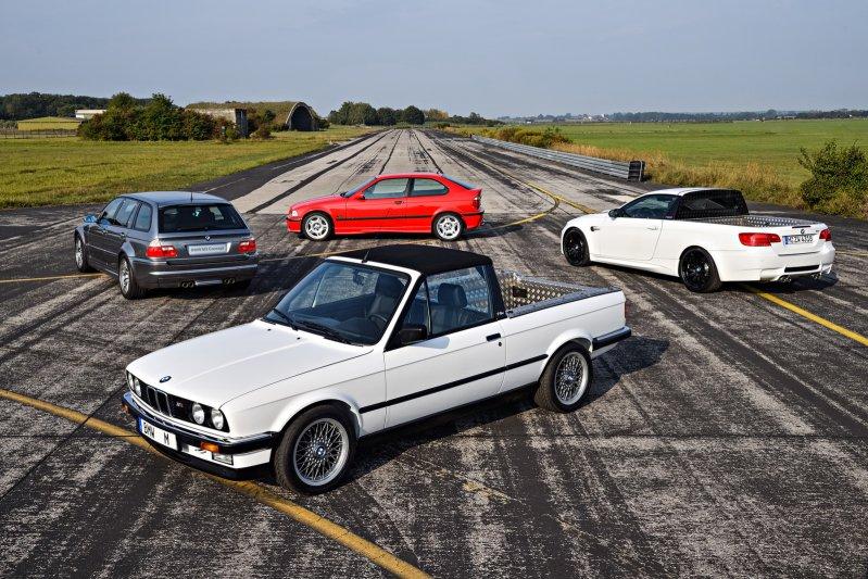 Пять необычных БМВ автомобилей