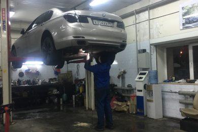 Оплавление проводки в BMW 750 XI