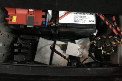 Проникла вода в багажник BMW F13