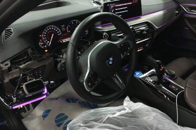 Установка ЖК-приборной панели 6WB на BMW G30