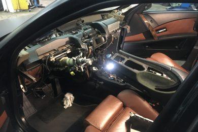 Ремонт проекции в BMW E60