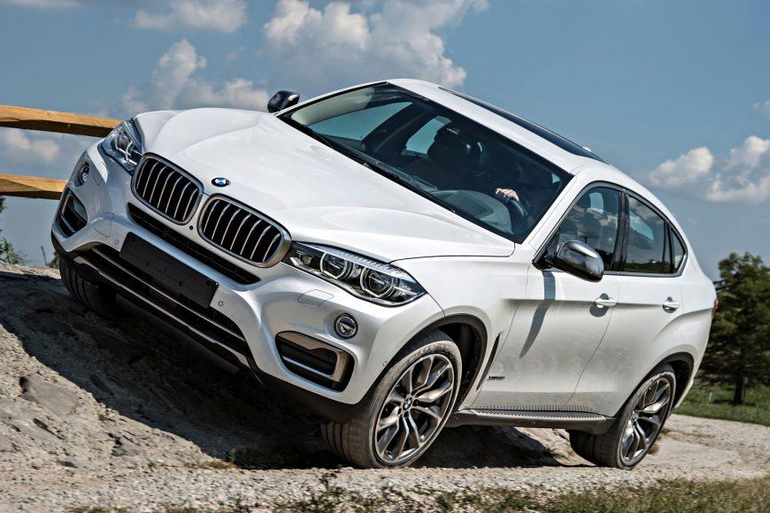 BMW X6: Стильный дизайн и мощные системы