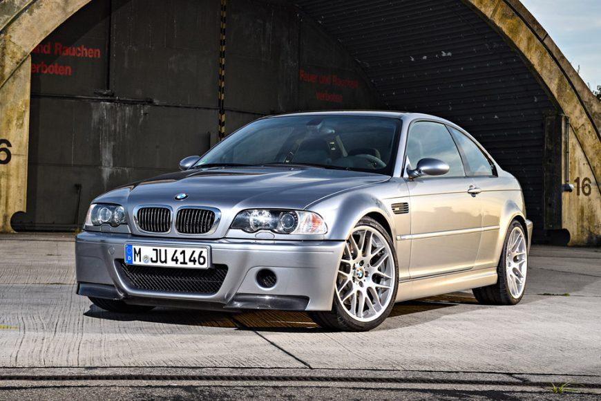 BMW E46 M3 CSL — Настоящая легенда!