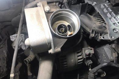 Устранение подтекания масла в BMW F30 N20