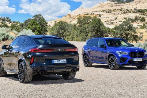 BMW F95 X5 M Competition and F96 X6 M Competition