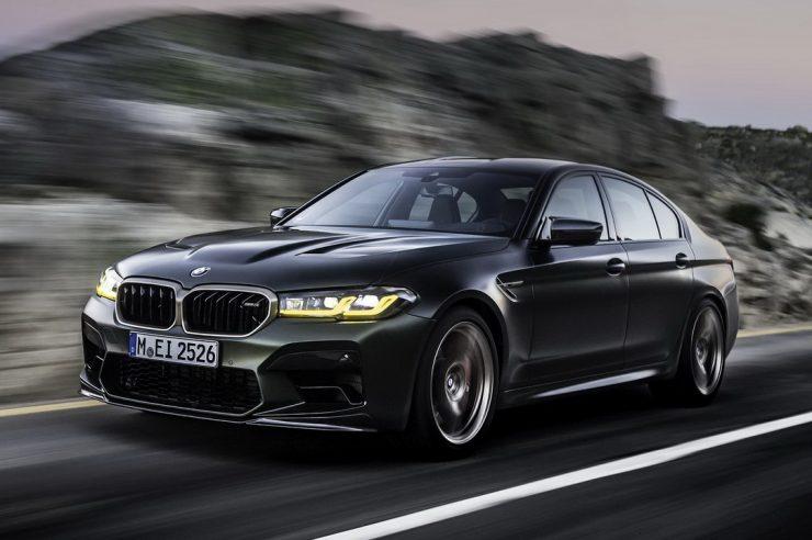 Новый BMW M5 CS. Технические характеристики.