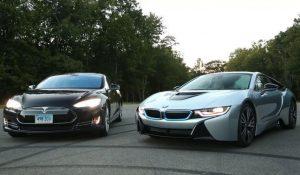 BMW и Tesla