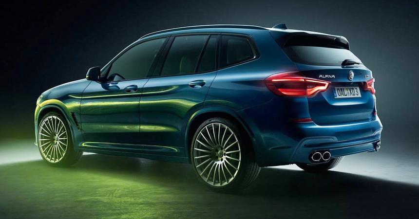 BMW Alpina XD3, XD4