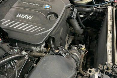 Чистка радиатора и кондиционера BMW 5 серии в кузове G30