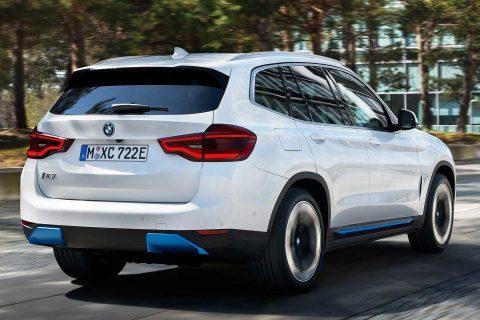 Новый G08 BMW iX3